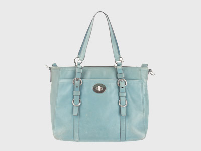 COACH LEATHER TOTE BAG 코치 레더 토트백 루스, ROOS