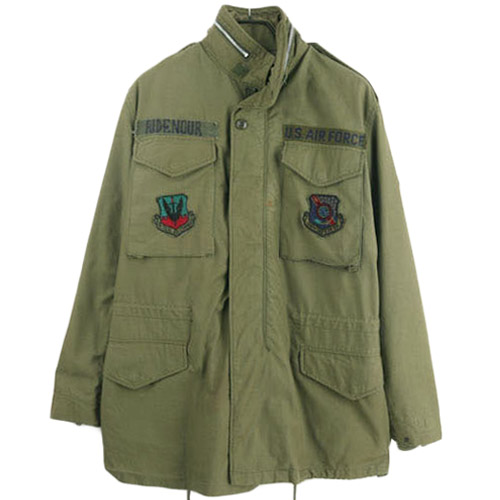 [중고] 60'S USA M-65 FIELD JACKET MEDIUM LONG  미군 M-65 필드자켓 SIZE 95 루스, ROOS