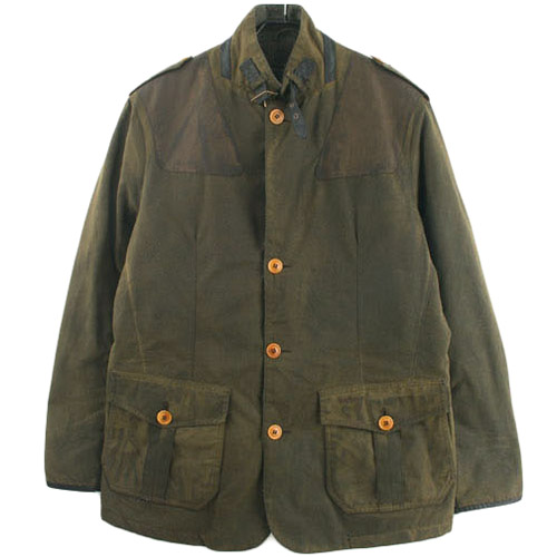 BARBOUR WYTON 바버 왁스 자켓 SIZE 100 루스, ROOS