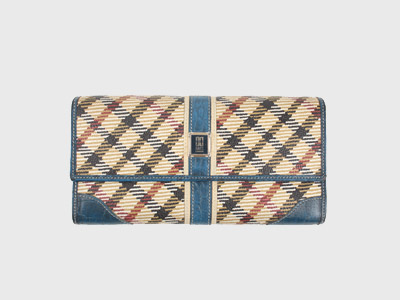 [빈티지] DAKS OF LONDON LEATHER WALLET  루스, ROOS