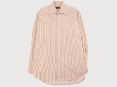 [빈티지] ZARA PIN STRIPE SHIRTS FROM SPAIN 자라  (103) 루스, ROOS