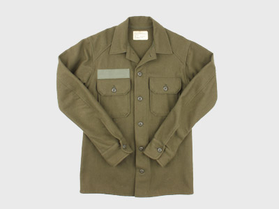 [중고] 70'S ORIGINAL U.S ARMY DEAD STOCK WOOL SHIRT (95) 루스, ROOS