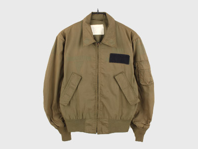 [중고] 80'S ORIGINAL FLIGHT JACKET USA MEDIUM- LONG (100) 루스, ROOS