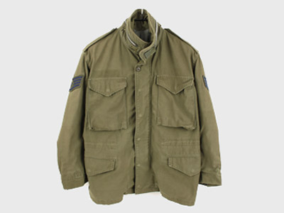 [중고] 60'S ORIGNAL USA M-65 FIELD JACKET SMALL SHORT  (97) 루스, ROOS