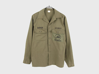 [중고]80'S ORIGINAL MILITARY FIELD SHIRT USA (103) 루스, ROOS