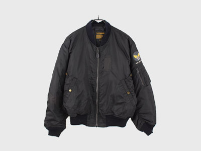 [중고] XENON JAPAN MA-1 FLIGHT JACKET 항공자켓 (105) 루스, ROOS