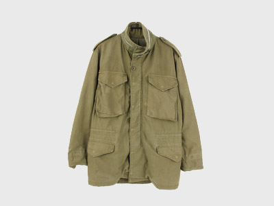 [중고]70'S ORIGINAL USA M-65 FIELD JACKET SMALL/R  (97) 루스, ROOS