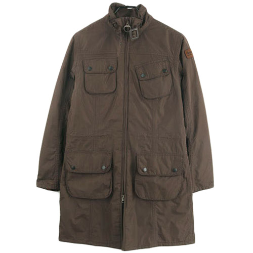 BARBOUR FEATHER WEIGHT INTERNATIONAL PARKA  바버 인터내셔널 파카 SIZE 여성 55~66 루스, ROOS