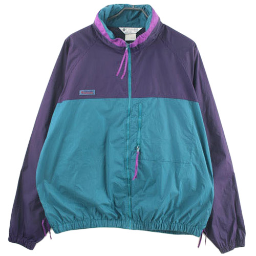 90'S COLUMBIA 컬럼비아 바람막이 자켓 SIZE 105 루스, ROOS