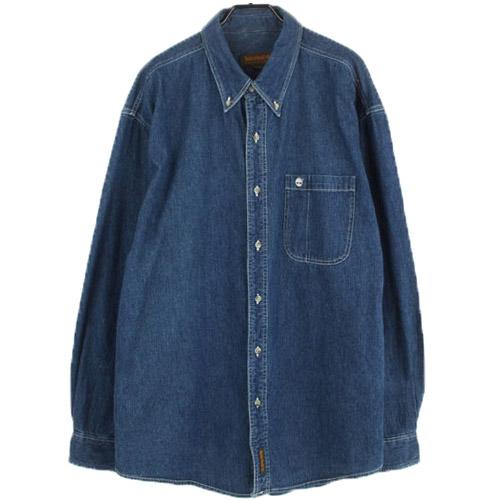 [중고] TIMBERLAND 팀버랜드 데님셔츠 (105) 루스, ROOS
