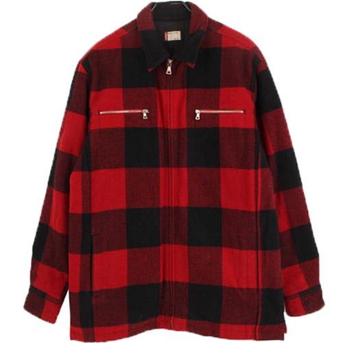 [중고] LEVSI 리바이스 CPO 울 퀼팅 셔츠자켓 (105) 루스, ROOS