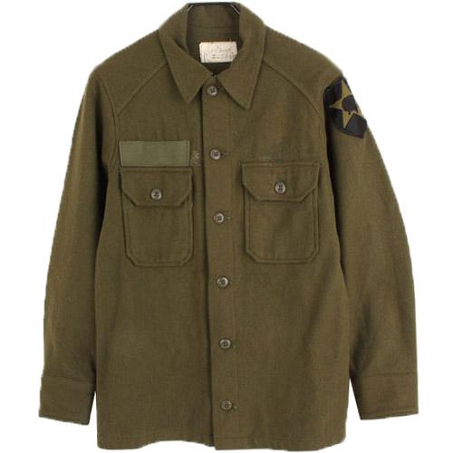 [중고] 60'S ORIGINAL U.S ARMY FIELD SHIRTS 미군 울 필드셔츠 (95) 루스, ROOS