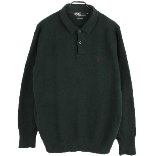 [중고] POLO 폴로랄프로렌 100% 울 니트 스웨터 (100) 루스, ROOS