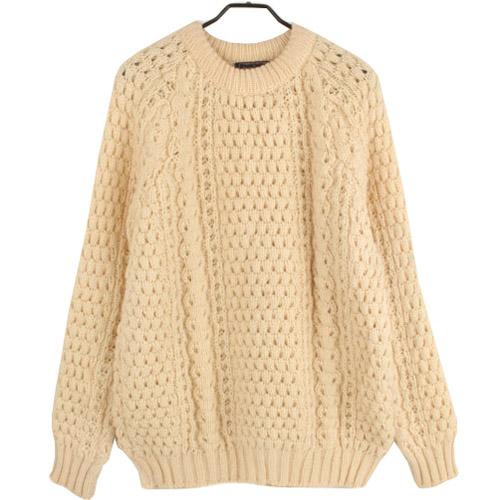 [중고] RORY LYNCH ARAN SWEATER IRELAND 아란 헤비울 니트 스웨터 (100) 루스, ROOS