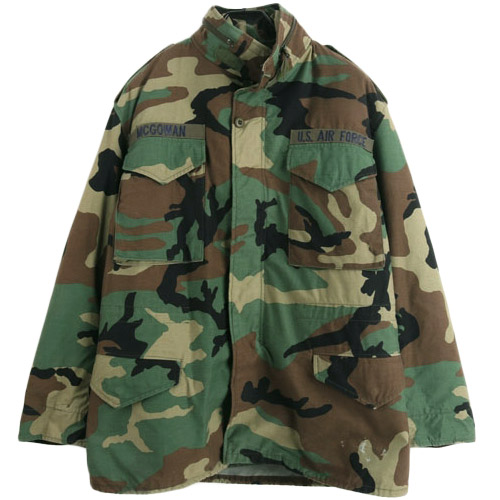 [빈티지] ORIGINAL USA M-65 FIELD JACKET 미군 M-65 AIR FORCE 필드자켓 (100) 루스, ROOS