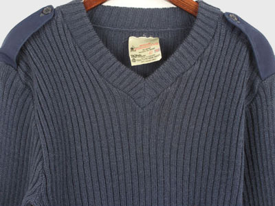 [중고]ORIGINAL COMBAT SWEATER BY ENGLAND (95) 루스, ROOS
