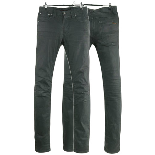 NUDIE JEANS THIN FINN DRY BLACK COATED ITALY 누디진 씬핀 드블코 팬츠 SIZE 28 루스, ROOS