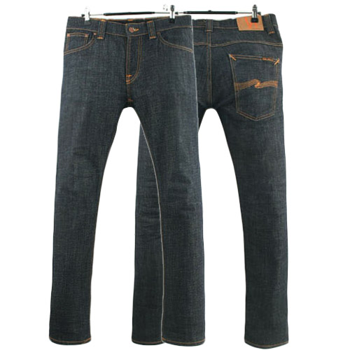 NUDIE JEANS THIN FINN DRY TWILL ITALY 누디진 씬핀 청바지 데님팬츠 SIZE 30~31 루스, ROOS