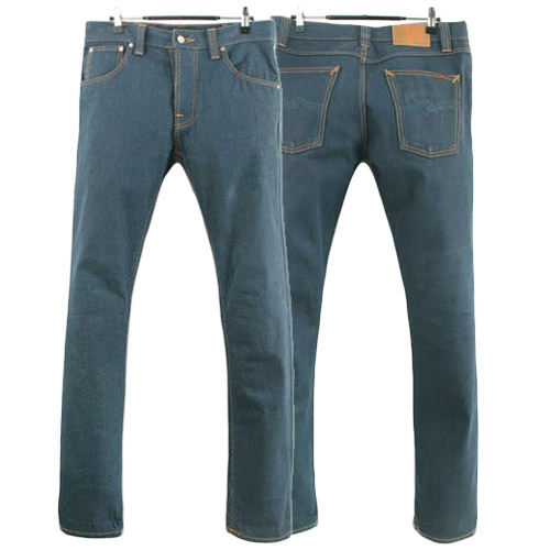NUDIE JEANS SHARP BENGT RECYCLE DRY GREENCAST ITALY 누디진 청바지 데님팬츠 SIZE 31 루스, ROOS